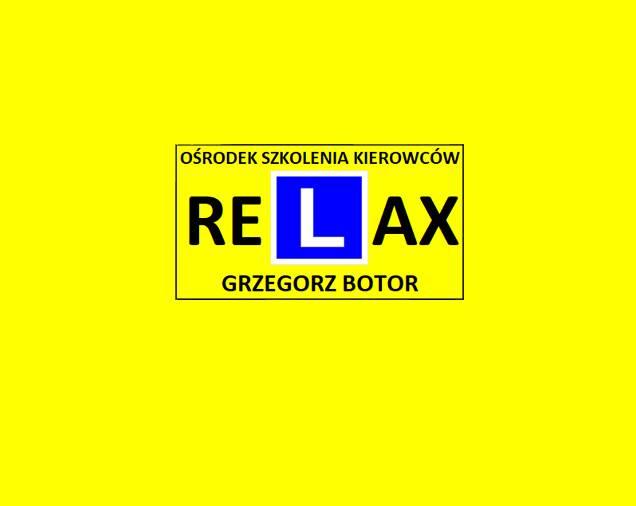 Ośrodek Szkolenia Kierowców RELAX Grzegorz Botor