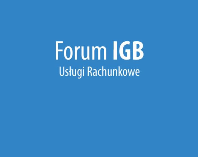 Forum IGB Usługi Rachunkowe